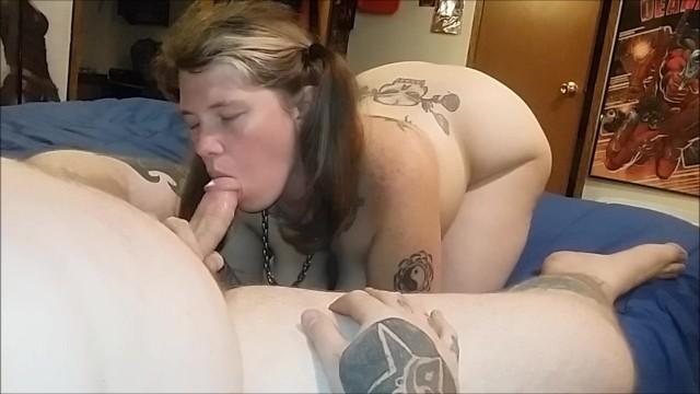 Pigtales phat ass - Pigtaled wife sucks fucks