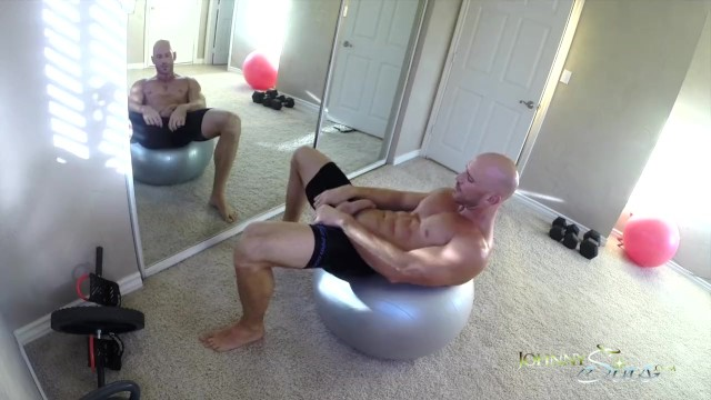 Johnny depps gay Sinslife - porn stud johnny sins jerks off while working out