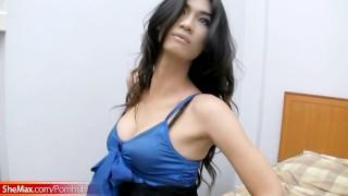 Dick strips ladyboy strokes dress down small hairy and blue masturbation masturbate