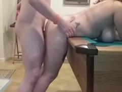 Busty Teen Gets Bent Over & Fucked