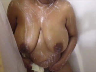 Reallesbianexposed naughty lesbian bath time fun
