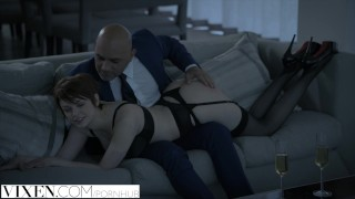 Sugar by daniels beautiful daddy redhead fucked vixen bree tits lingerie