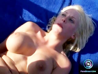 Mary and Kathy Anderson with big boobs fucking the well gifted Jamaica