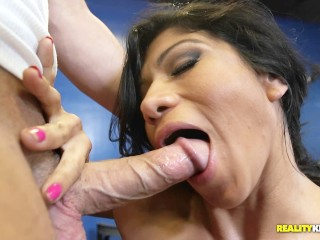 Statistics Of Marriages From Online Dating Xo Rivera Uses Her Abs To Suck Cock, Brunette Fetish Hardcore Pornstar