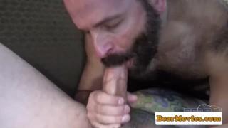Chubby bear sixtynining heavy mature porno