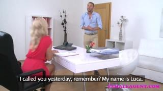 FemaleAgent Italian stud fucks hard and fast