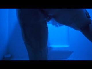 Blue light shower