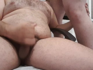 Hairy Bears Sucking, Jacking off, Cuming