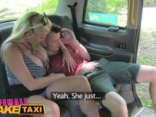 Guy Fucking A Fake Pussy FemaleFakeTaxi Student gets ultimate fantasy fuck