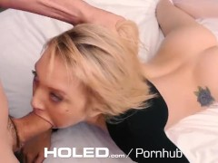 Holed - petite dakota skye spreads her tiny asshole for anal