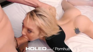 HOLED - Petite Dakota Skye spreads her tiny asshole for anal Sex crying