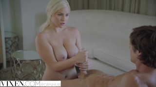 Her sisters man vixencom blonde to naughty make her jealous fucks boobs cowgirl