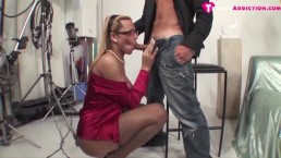 massive tit tranny loves cock and she gets it hard