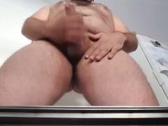 BearLikeBoy jacking off and making POV facial cumshot