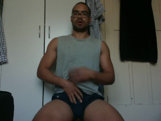 Horny buddy needs to get off quick, so horny!