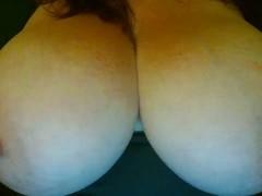 Natural Big Tits Horny Milf Solo Titties Masturbation Amateur
