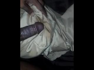 Black 19yr Old Fucking His pillow