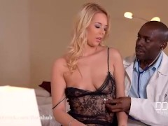 DDF Network-Hardcore Recovery-Doctors Black Cock Penetrates Blonde's Ass