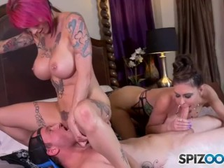 Sex Machine Compilation Fucking, JessicA And annA Cam 2St Experience Big Dick Big Tits MILF Pornstar