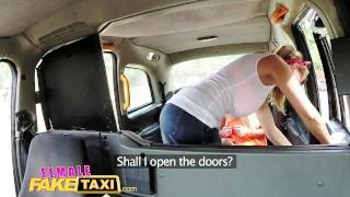 Cab lesbians fuck in femalefaketaxi busty sexy tattooed taxi orgasm