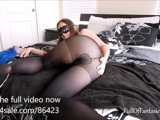 Squirting in Black Pantyhose (teaser)