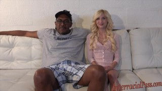 smallest chick takes 12 inch biggest black cock!  small girll massive interracialpass big-cock blonde skinny young petite teenager blackzilla tiny-girl dredd piper-perri massive cock