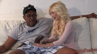 smallest chick takes 12 inch biggest black cock!  small girll massive massive cock tiny girl big cock interracialpass blonde skinny young piper perri petite dredd teenager blackzilla