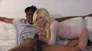Takes smallest inch black cock biggest chick piper skinny