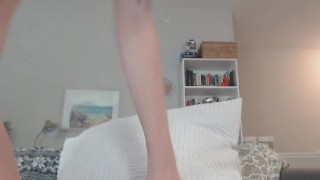 Babe on amateur sexy cam masturbating small toying