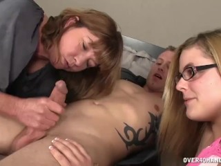 Simply Delicious Alison Star Sexy Mom Sucks A Dick In Front Of Her Daughter, Big Dick