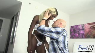 Black barbie gets hammered & creampied in Vegas