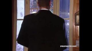 Silvia Saint Sucks a Cock at a Party While Everyone Watches porno