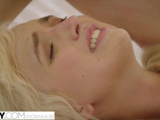 Anal Full Of Cum Tushy.Com Naughty Blonde Anal Fucked By Her Therapist
