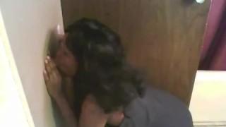 black girl gloryhole  smoking black girl white guy gloryhole