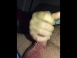 Late night masturbating and cumshot...