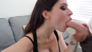 Short BJ Before Party Fuck mom