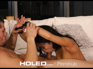 HOLED – Megan Rain rope bondage for hardcore anal