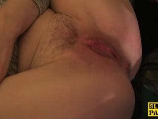 Good Hood Pussy Fucking, English sub slut footfucked and dominated Cumshot Reality