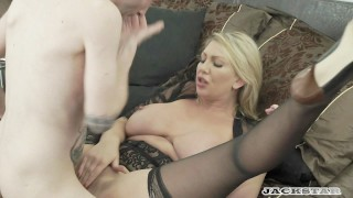 LEIGH DARBY IN  MY FRENCH STEPSON full scene. Tits older