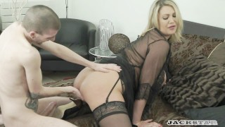 LEIGH DARBY IN  MY FRENCH STEPSON full scene. Blonde stepmom