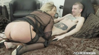 LEIGH DARBY IN  MY FRENCH STEPSON full scene. Boobs solo