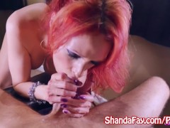Kinky Milf Shanda Fay Sucks Cock for Facial!