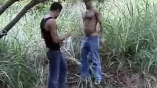 Sinful Outdoor Cock Sucking Men