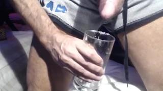 Jackoff in a Fleshlight thingamajiggy - HOT