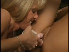 A Classic with Mature Carol's first time with a young Alanna Thomas