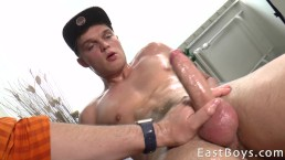 Handjob Casting - Big Cock