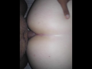 Anal Creampie for this Juicy Ass