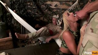 uniform women in scene pussy army