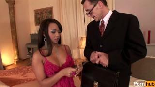 Prostitutes scene work  interracial ebony
