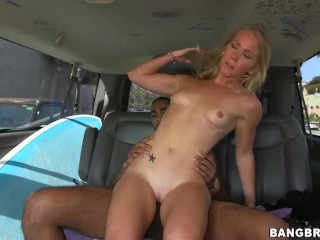 Sexy Surfer Fucked On The BangBus